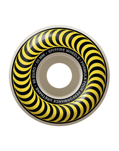 Spitfire - 55 mm Formula Four 99D Classic Yellow (4170348232763)