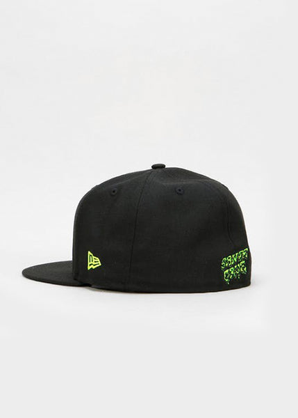 "Santa Cruz x New Era  Gorro Fitted ""slime"" Black"