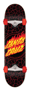 Santa Cruz - Tabla Completa Flame Dot Full 8.0 x 31.25