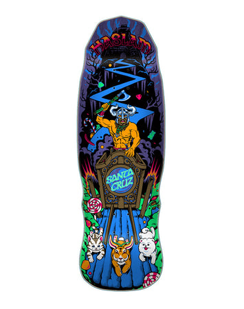 "Santa Cruz - Haslam ""Snack Warrior"" Guest Preissue 9.9 x 30.84 + Lija Iron"