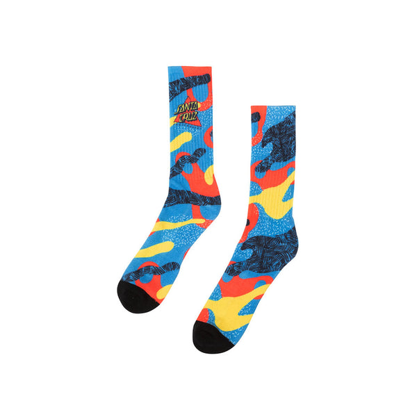 Santa Cruz - Calcetines Not A Dot Crew Socks Multi 9-11