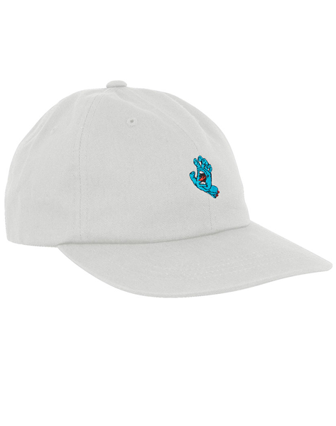 "Santa Cruz - Gorro DadHat ""Screaming Hand Unstructured"" White (2236689481787)"
