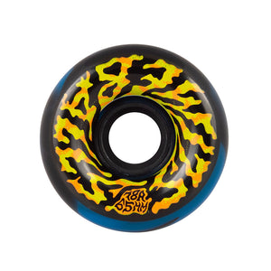 Slime Balls - Ruedas Swirly Black Blue Swirl 78a 65mm