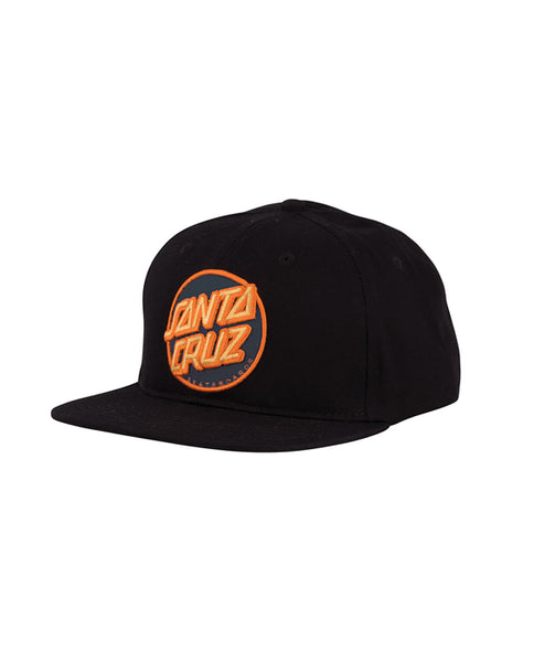 "Santa Cruz - Gorro Snapback ""Other Dot"" Black (1999003680827)"