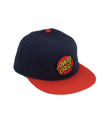 "Santa Cruz - Gorro Snapback ""Dot"" Blue/Red"