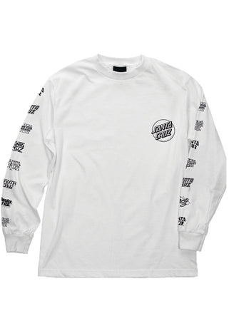 "Santa Cruz - Polera Manga Larga ""Multi Cruz"" White"