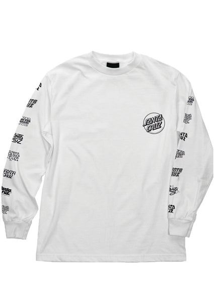 "Santa Cruz - Polera Manga Larga ""Multi Cruz"" White (4171386290235)"