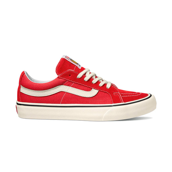 Vans - Sk8-Low Reissue Sf Ultracush (Salt Wash) Red/Marshmallow