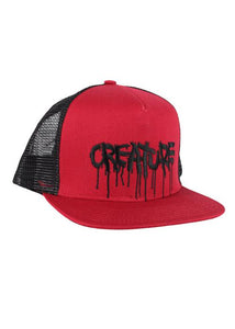 Creature - Snapback Malla Blood - Cardinal/Black (2308019716155)