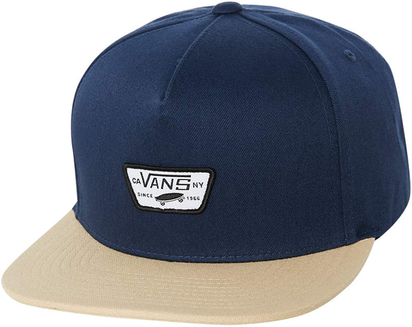 Vans - Gorro Snapback MN MINI FULL PATCH IN DRESS BLUES-KHAKI
