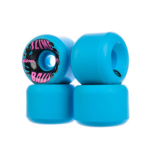 Slime Balls - Ruedas Splat Vomits Neon Blue 97a - 60mm
