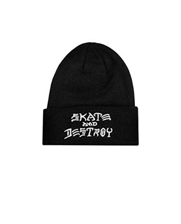 "Thrasher - Gorro Beanie ""SAD"" Embroidered Black"