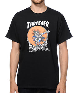 "Thrasher - Polera ""Outlaw"" Black"