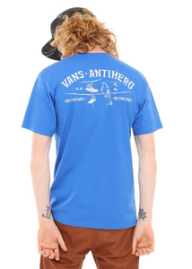 "Vans x Antihero Polera "" ON THE WIRE SS"" ROYAL"