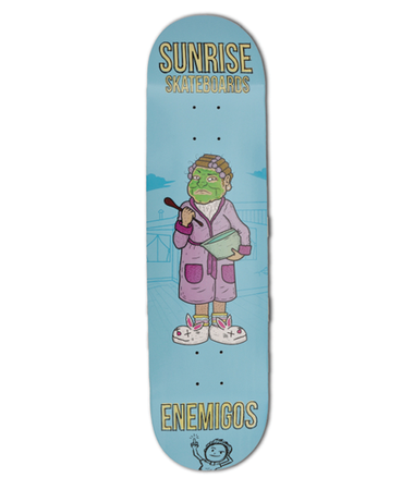 Sunrise - Enemigos 8'25 + lija Iron