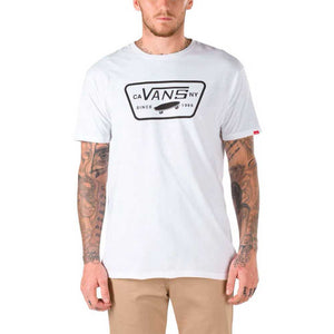 Vans - Polera Full Patch White