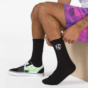 Vans - Calcetines RZ Crew Black (6.5 - 9.0 US)