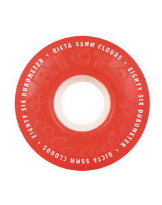 Ricta - Clouds Red 55mm 86a Red-White
