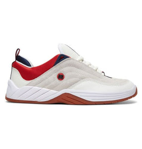 DC - WILLIAMS SLIM White/Nav/Red