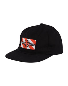 "Independent - Gorro Snapback ""Hazard Herringbone"" Black (1489242849339)"