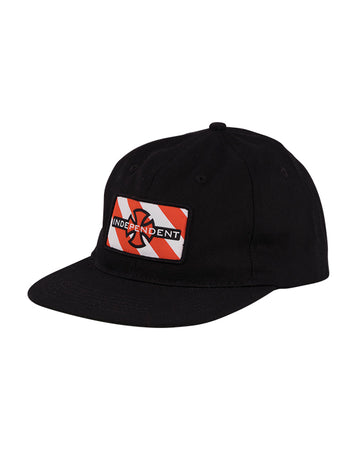"Independent - Gorro Snapback ""Hazard Herringbone"" Black"