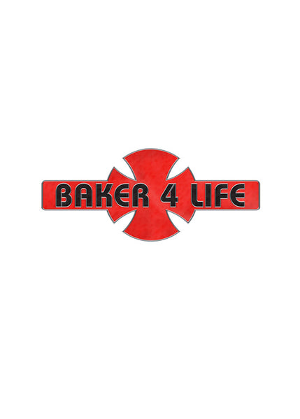 Independent -  Pin Baker 4 Life Red/Black OS