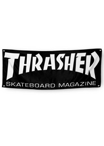Thrasher - Banner Skate Mag (1.40 x 58 aprox) (2036830765115)
