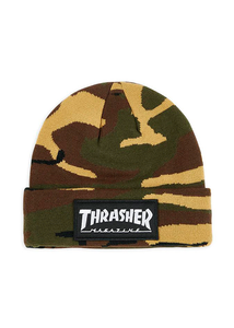 "Thrasher - Gorro Beanie ""PATCH"" Camo"