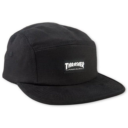"Thrasher - Gorro 5 Panel ""Logo Mag"" Black"