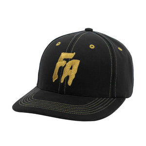 Fucking Awesome - Gorro Strapback Unstructured Seduction Of The World Black/Gold