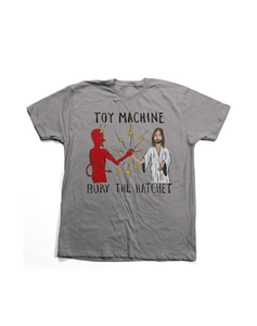 "Toy Machine – Polera ""Bury The Hatchet"" Grey"