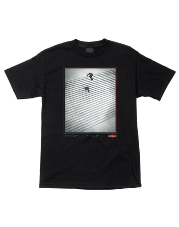 "Independent - Polera ""Burnett/Jaws Lyon 25"" Black"