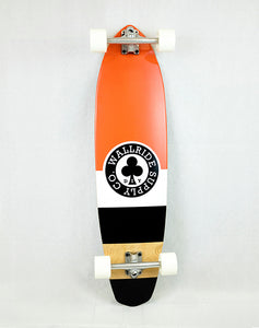 Wallride - Clover Red Longboard (1489235574843)