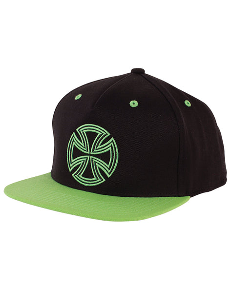 Independent - Lines Flexfit One Ten Black/Green