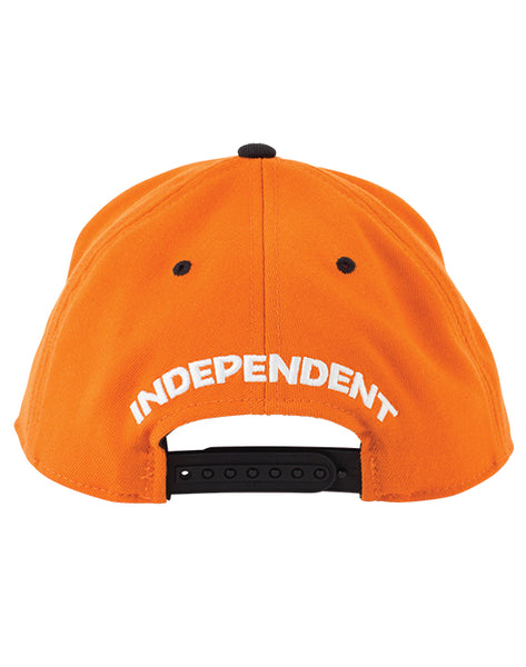 Independent - Lines Flexfit One Ten Orange/Black