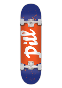 Pill - Tabla Completa CLASSIC LOGO 8.125 x 32 NEON ORANGE/PURPLE