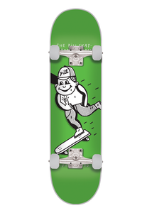 "Pill – Tabla Completa ""PUSH MONGO"" 8.0 x 32 WHITE/GREEN"