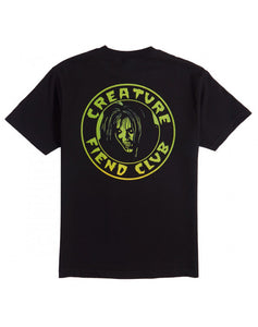 "Creature - Polera ""Fiend Club"" Black"
