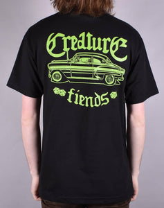 "Creature - Polera ""Car Club"" Black"