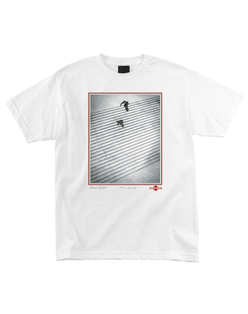 "Independent - Polera ""Burnett/Jaws Lyon 25"" White"