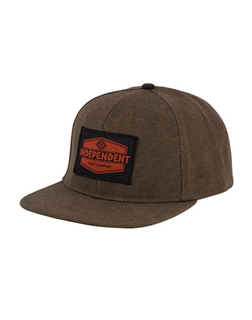 "Independent - Gorro Snapback ""Industrial"" Brown"