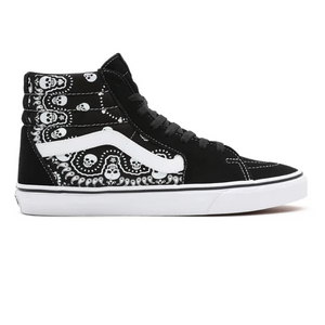 Vans - Sk8-Hi Bandana BLACK/TRUE WHITE