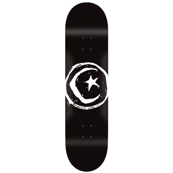 Foundation - Tabla Star & Moon Black 8.0 x 31.63 + Lija Iron