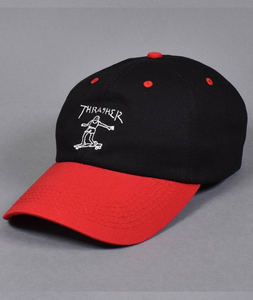 "Thrasher - Snapback ""Gonz Old Timer Hat"" Black/Red"