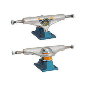 Independent - Trucks 139 Hollow (Perforados) Pro Grant Taylor Engine Silver Anodized Blue