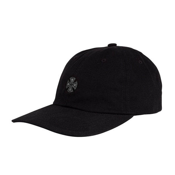 Independent - Gorro GSD Cross Strapback Unstructured Low - Black/Grey