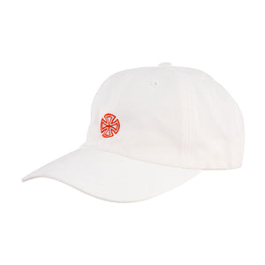 Independent - Gorro GSD Cross Strapback Unstructured Low - White