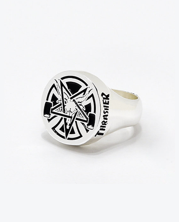 Independent x Thrasher - Pentagram ring