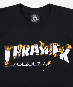 "Thrasher - Polera ""Intro Burner"" Black"