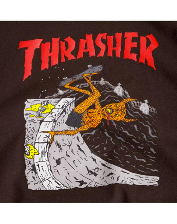 Thrasher - Neckface Invert Brown